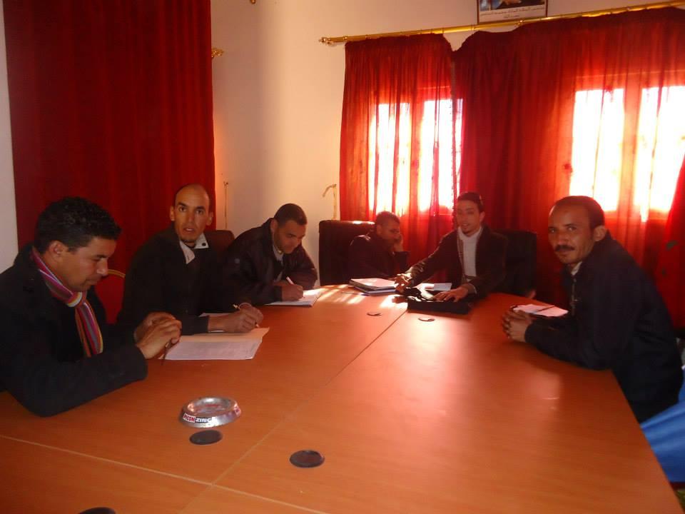 """تنغير : جمعيات المجتمع المدني تستقبل من جديد الخبير  في التنمية القروية الدكتور """"سعيد خليل"""