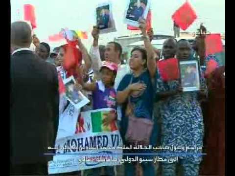 وصول جلالة الملك في زيارة رسمية لدولة مالي