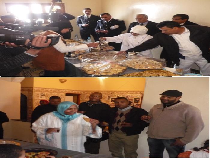 ورزازات: افتتاح مشروع اصلاح و تجهيز مقر لأعداد الخبز و الحلويات