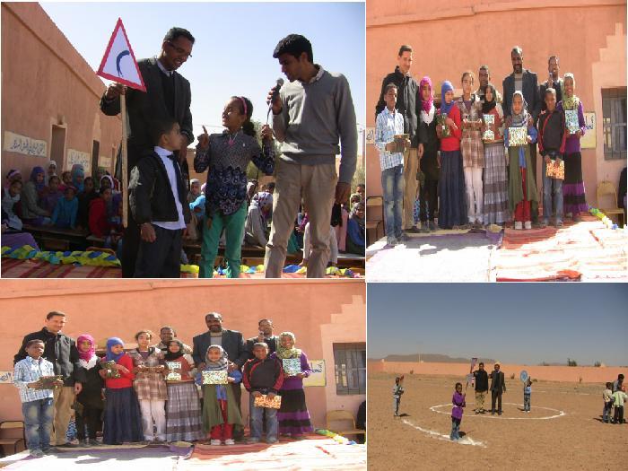 مجموعة مدارس تمتيك تحتفل باليوم الوطني للسلامة الطرقية