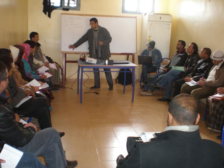 ورزازات : فرع جمعية تنمية التعاون المدرسي تنظم دورة تكوينية في الفيلم التربوي