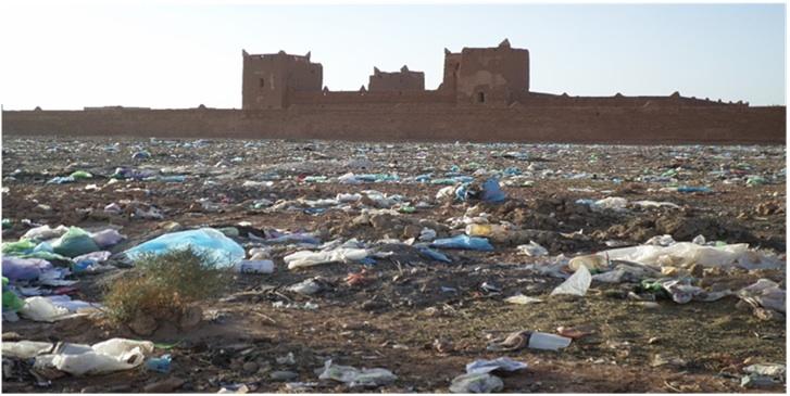 ربيع تاكونيت: الأزبال تحف قصبة الكلاوي التاريخية