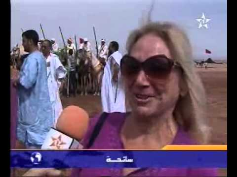 فعاليات موسم سيدي ناجي بالمحاميد الغزلان
