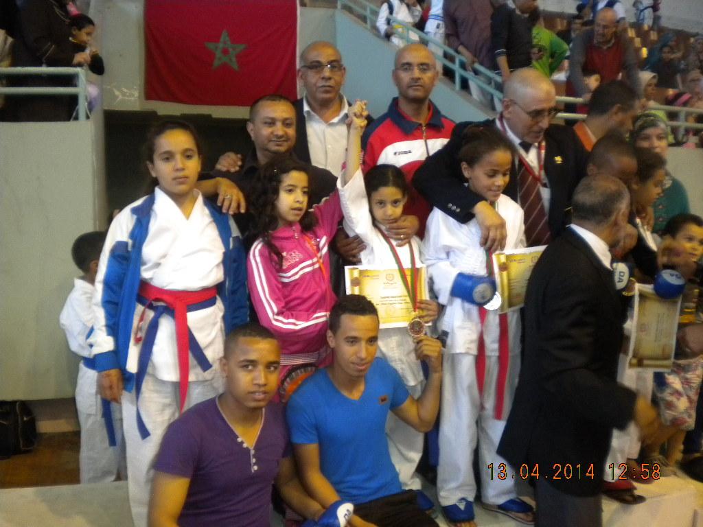 تألق أبطال جمعية أسود الدراركة بالبطولة الوطنية للكراطي بالرباط