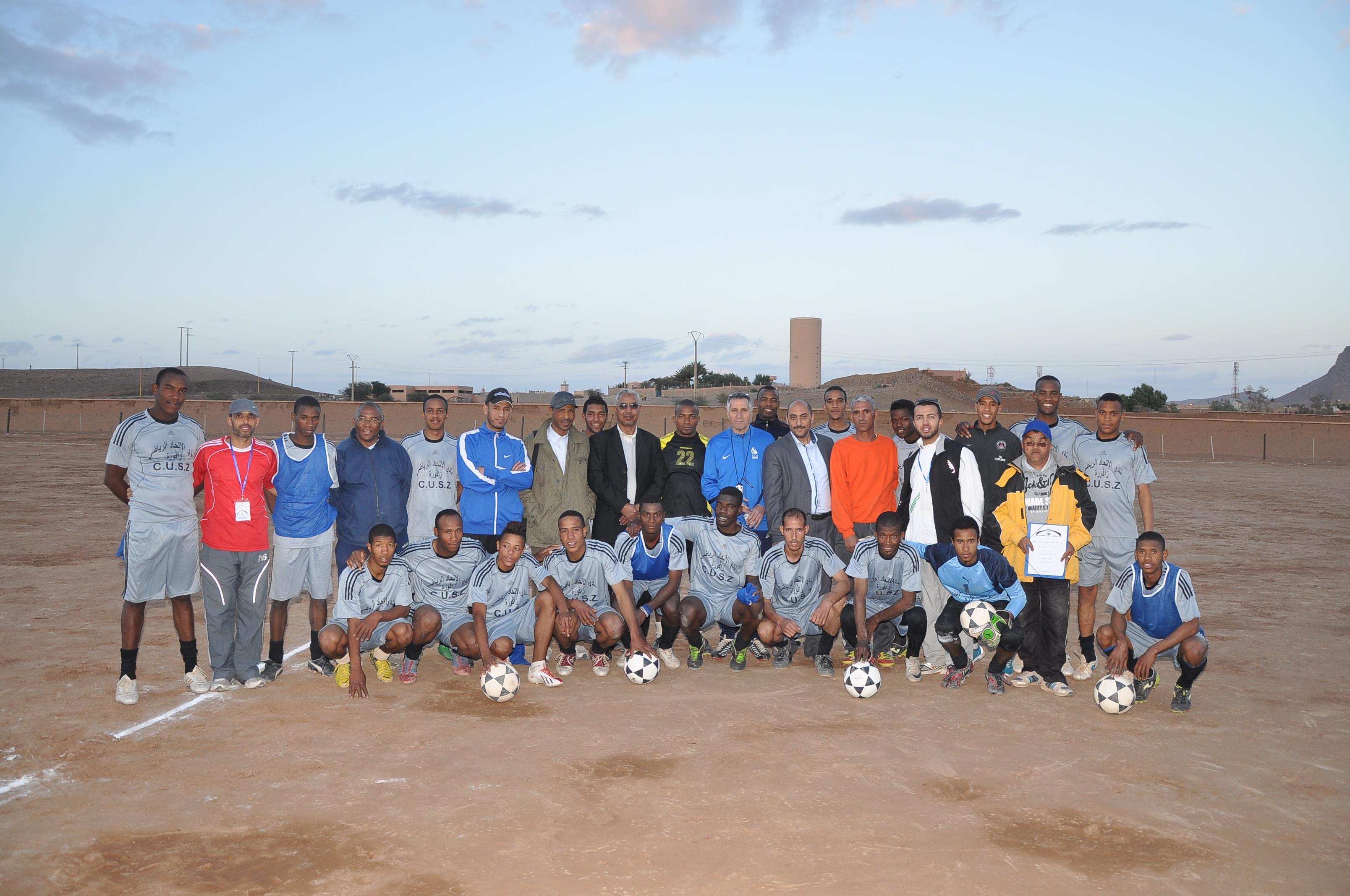 لقاء اليوم الأربعاء بين فريقا الاتحاد الرياضي والجمعية الرياضية لبومالن دادس