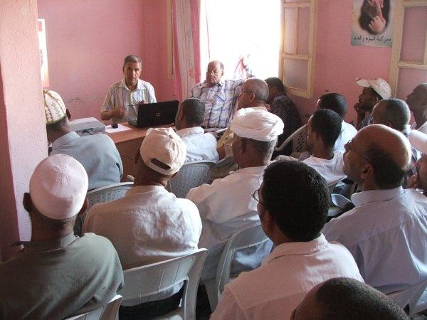 الجمع العام لتجديد مكتب فرع حزب الاستقلال لبلدية زاكورة