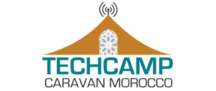 "قافلة ""TechCamp"" يومي 26  و 27 ابريل 2014 بورزازات."