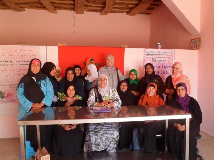 تنغير :التعاونية الفلاحية نساء دادس تعقد جمعها العام السنوي