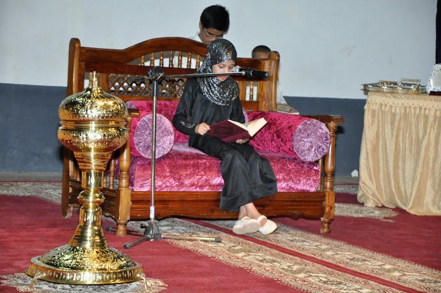 تنغير:الطفلة شيماء القرشي تفوز بالمسابقة النهائية لحفظ القرأن وتجويده
