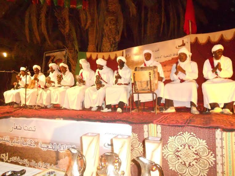 زاكورة حاضرة في الدورة الثالثة لمهرجان الثقافة الشعبية للواحات بالراشدية