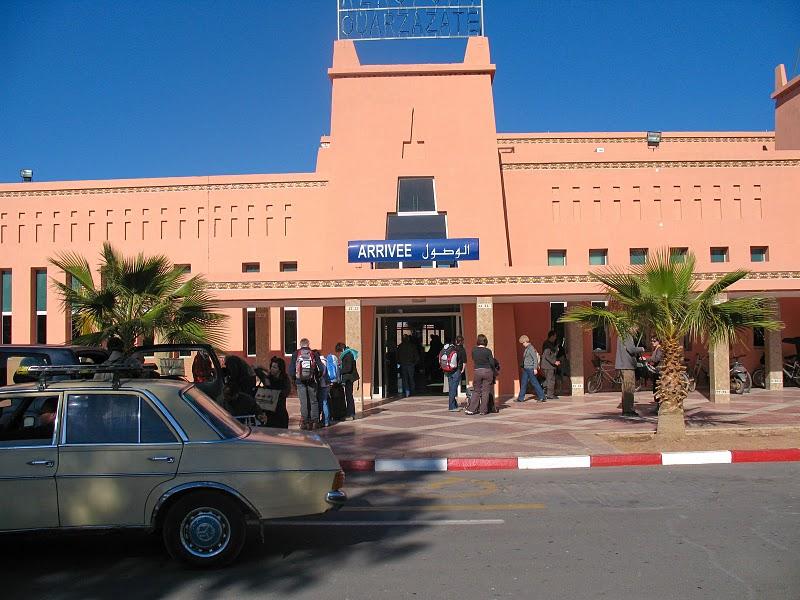 ارتفاع بنسبة 28,35% في حركة المسافرين بمطار ورزازات خلال شهر يوليوز