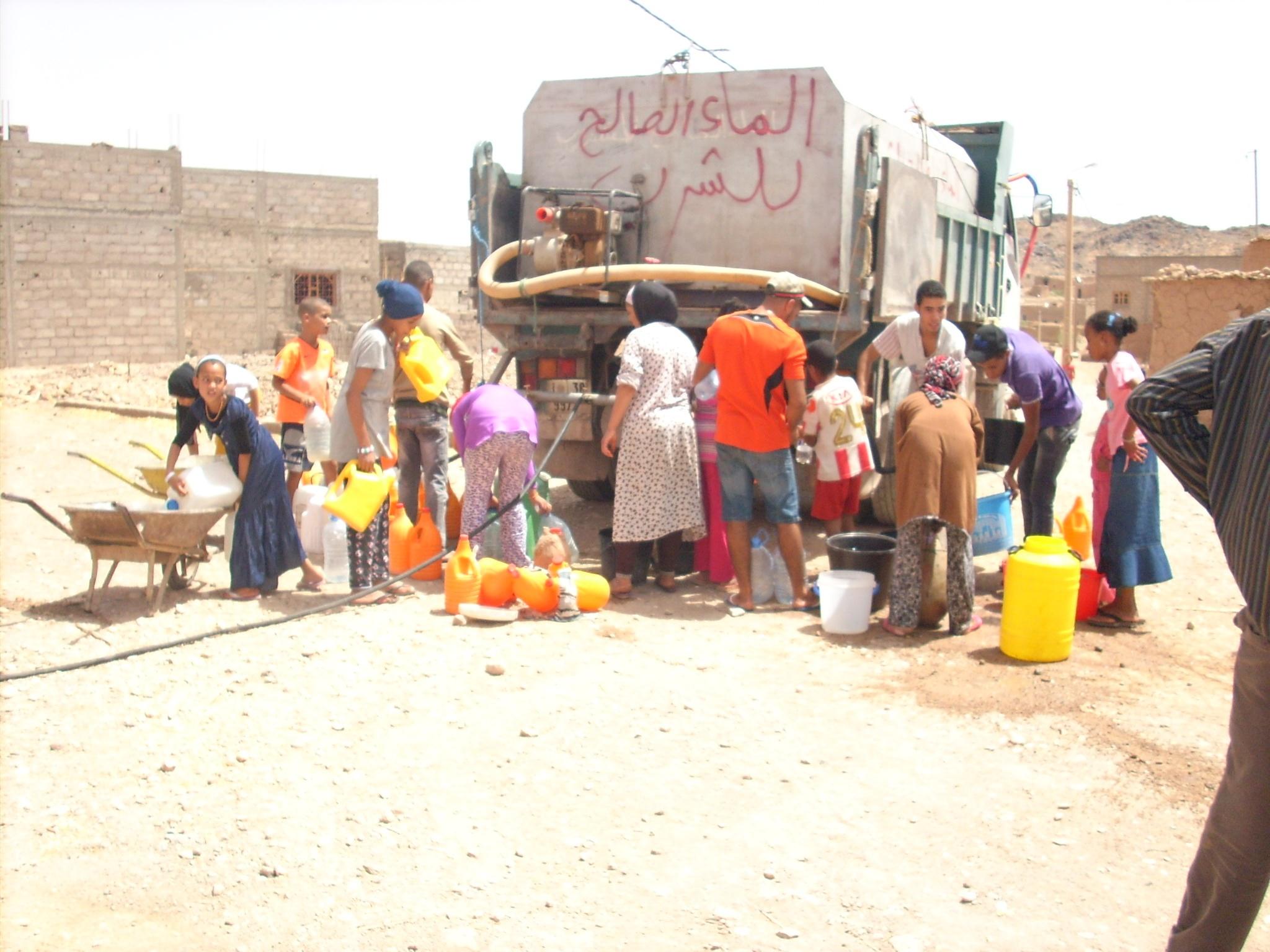 ورزازات – سكورة العطش و الجفاف يضربان بقوة قرية سيدي فلاح