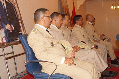 عـامل اقليم تنغير يترأس حفل تنصـيب رجال السلطة الجدد