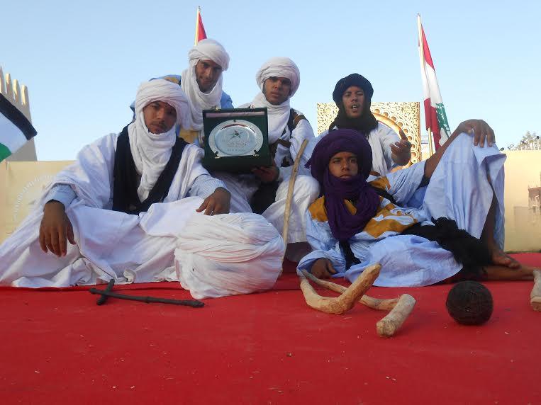 مشاركة امحاميد الغزلان في المهرجان العربي للألعاب والرياضات التقليدية