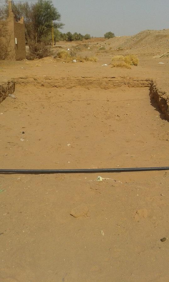 ساكنة تيغرمت تطالب بإيقاف مشروع للصرف الصحي