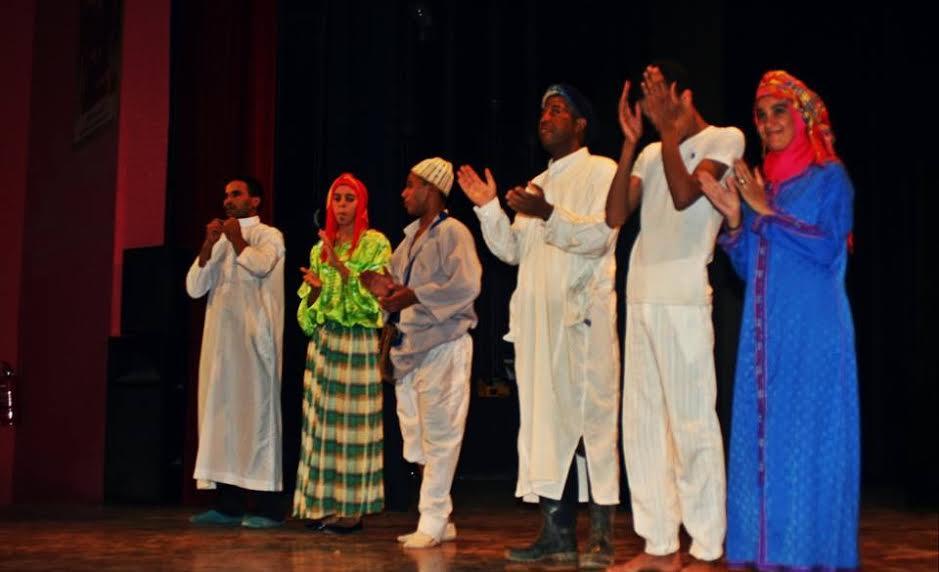 """مسرحية """"لالة تكرامت"""" ضمن فعاليات الملتقى الأول للمسرح بزكورة"""