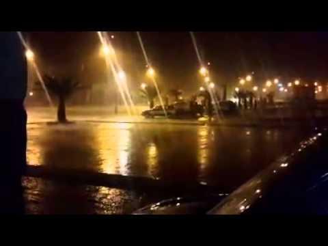 فيديو: أمطار قوية بزاكورة