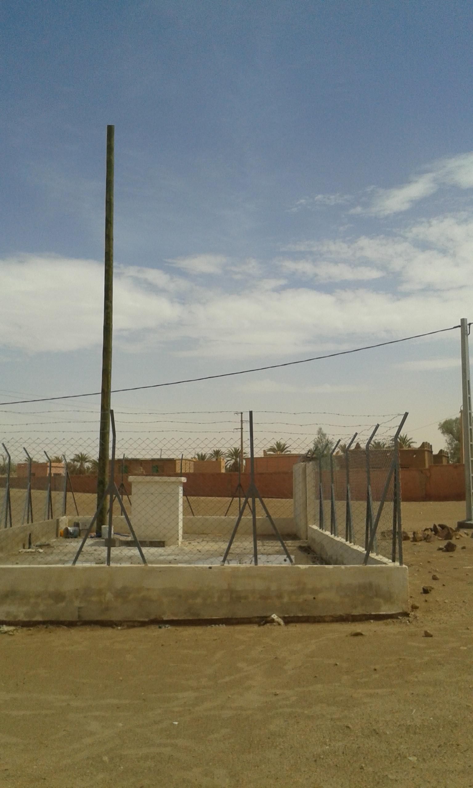 متى ستجهز اتصالات المغرب محطة التقوية بالركابي بامحاميد الغزلان بالمعدات اللازمة