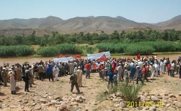 نزاع بعض قبائل جماعة مزكيطة بأكدز إقليم زاكورة وصمت الجهات المعنية
