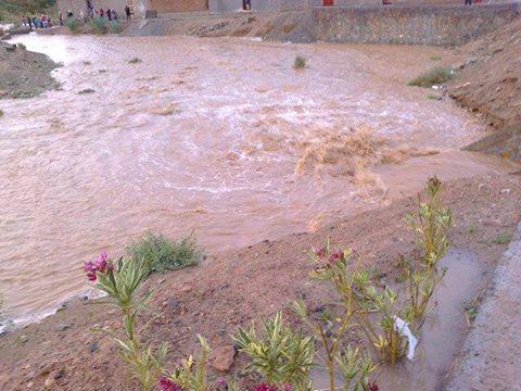 أمطار ورياح قوية بإقليم زاكورة ودواوير لازالت في عزلة