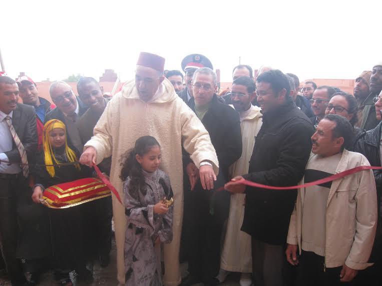 بومالن دادس:تدشين مشروع اعادة تأهيل المستشفى وزيارة مركز ذوي الاحتياجات الخاصة