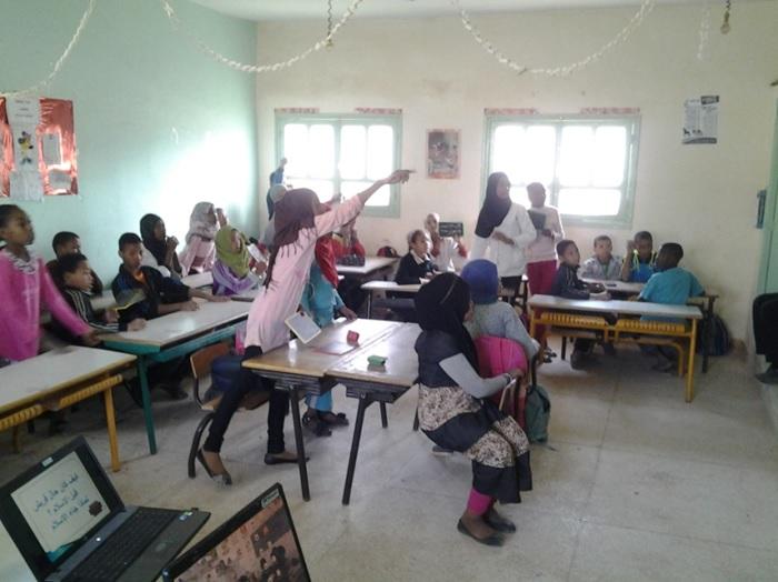 مجموعة  مدارس بني علي تخلد ذكرى المسيرة الخضراء
