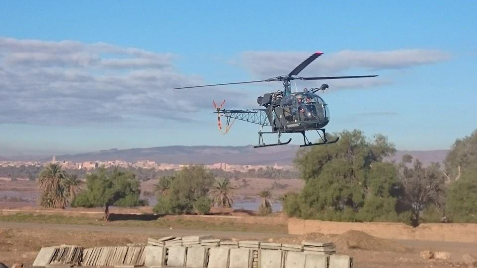 تفاصيل إجلاء سائحين من أمزرو بمروحية