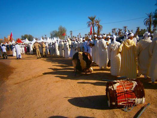 اختتام مهرجان تزارين للحناء على انغام ستيتو  وبحضور عامل اقليم زاكورة