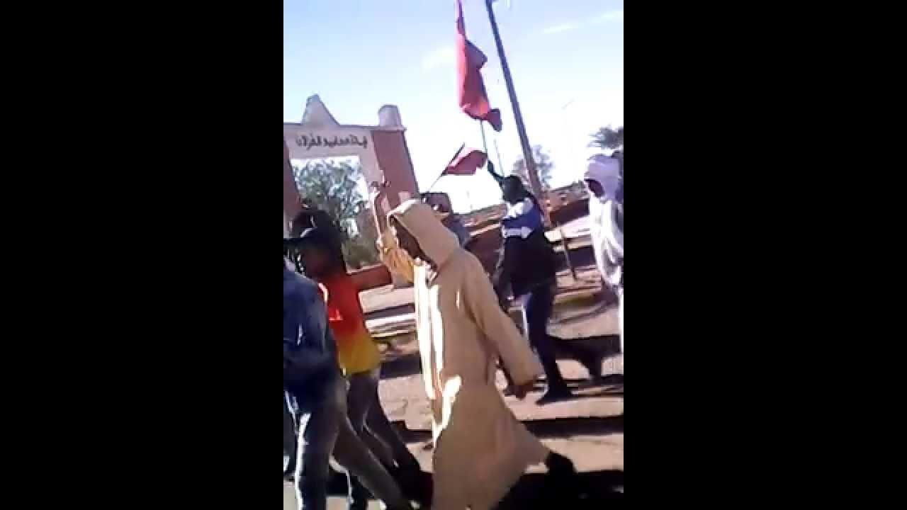 فيديو: الضفة الأخرى لواد درعة بامحاميد الغزلان تنتفض