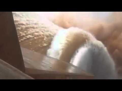 عاجل: فيضان سد المنصور الذهبي بورزازات