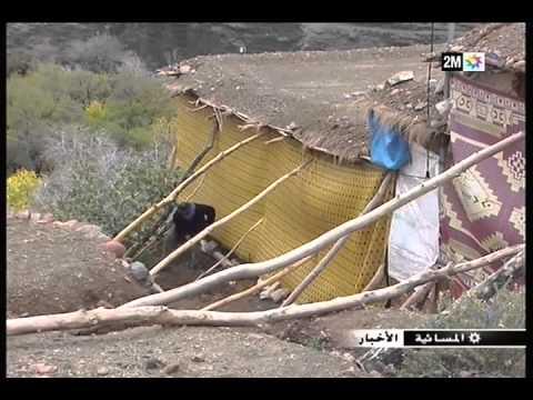ورزازات: عزلة دواوير بسبب الفيضانات