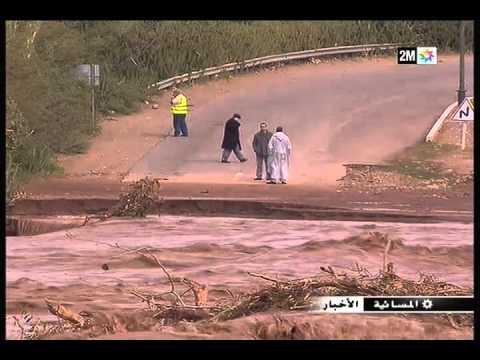 الحوز: خسائر الفيضانات
