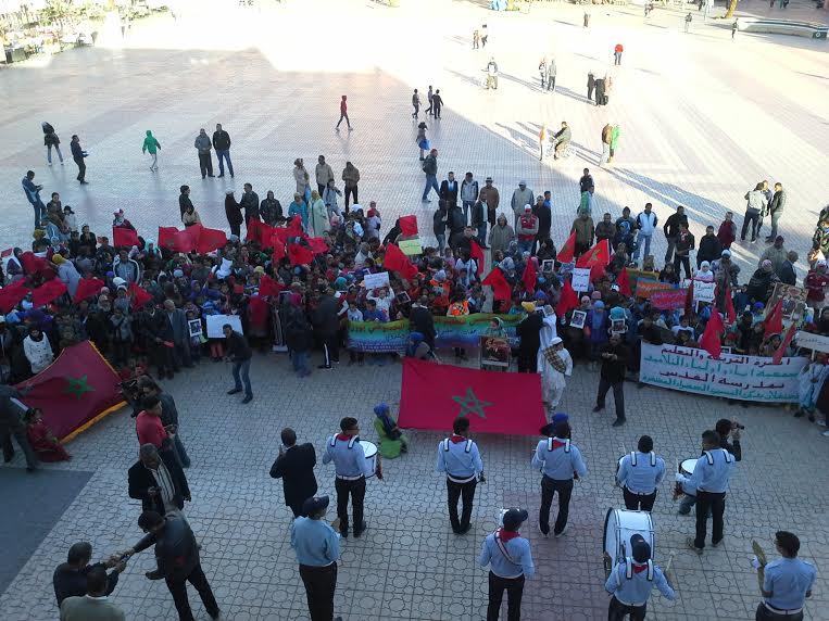 احتفالات و إطلاق مشاريع اجتماعية  في الذكرى 39 للمسيرة الخضراء بورزازات