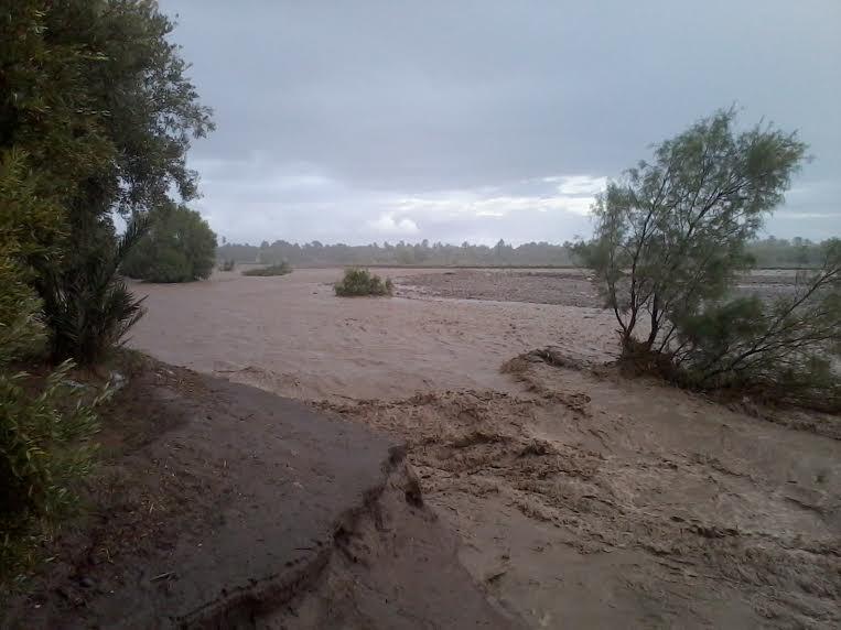 واحة سكورة بورزازات نكبة طبيعية جديدة تطال الواحة بسبب الفيضانات الطارئة