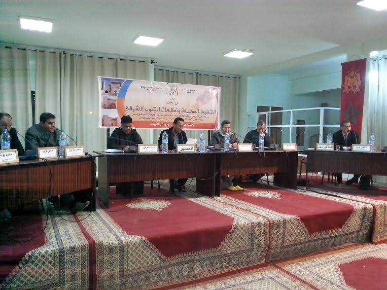 الرشيدية وأحقيتها لإحتضان مركز الجهة موضوع ندوة بالريصاني