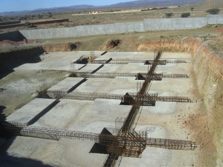 توقيف اشغال بناء محطة تصفية الماء الشروب بمدينة زاكورة