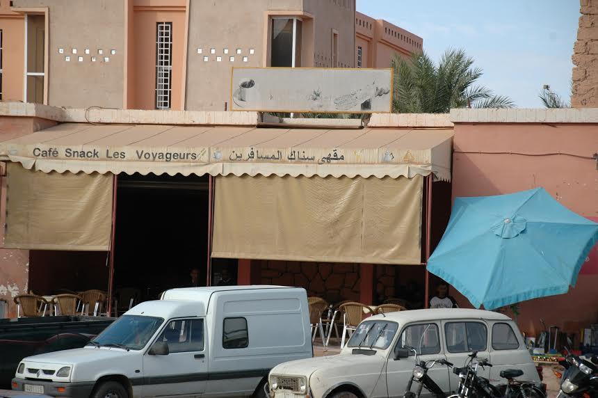 مالكي مقهى المسافرين بزاكورة يستنكرون محاولات رئيس المجلس البلدي لأفراغهم