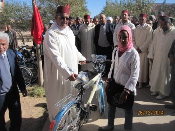 الدعم الاجتماعي يتعزز بنيابة زاكورة بتوزيع دراجات هوائية وتجهيزات ولوازم مدرسية
