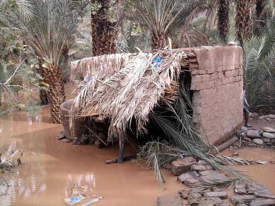 دوار تملالت بتمزموط معاناة بعد الفيضانات