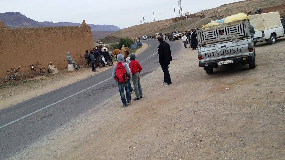 accident Ouled yahya lagrayer