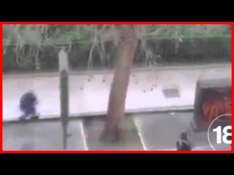 """فيديو لحظة قتل أحد ضحايا الهجوم على صحيفة """"شارلي إبدو"""""""