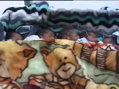 فيديو: التوائم الخمسة بالمستشفى الإقليمي بزاكورة