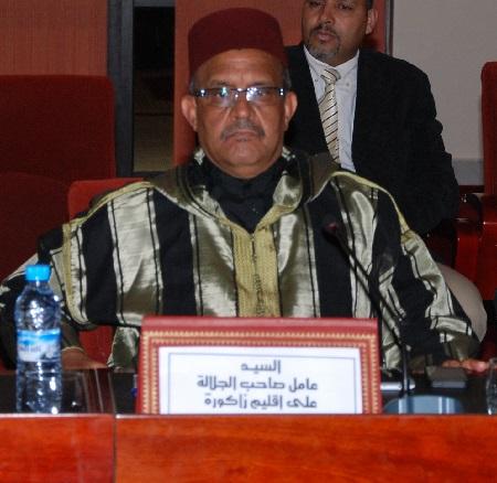 رسالة تظلم للسيد عبد الغني صمودي عامل اقليم زاكورة