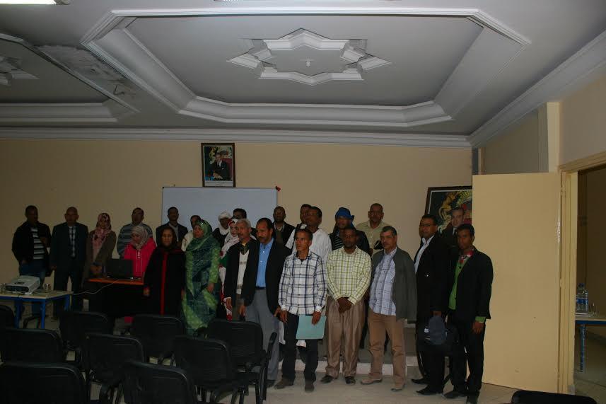 احتفال المندوبية الاقليمية للتعاون الوطني بزاكورة  بالذكرى الأولى لليوم الوطني  للمجتمع المدني