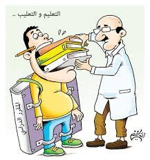 2- لغة التدريس