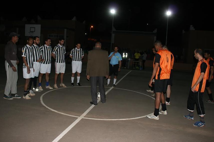 جمعية مبادرة بزاكورة تنظم  دوري التسامح لكرة القدم