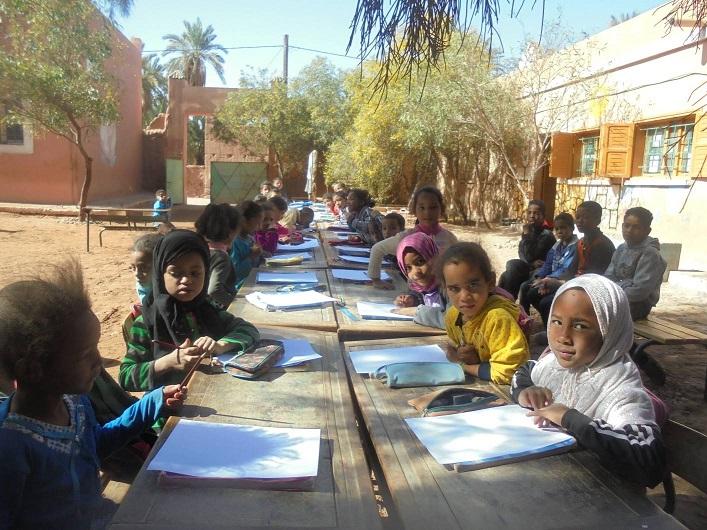 احتفال مجموعة مدارس بني سمكين باليوم العالمي للماء