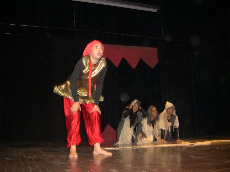 المهرجان الربيعي للمسرح بالثانوية التأهيلية سيدي عمرو بتازارين