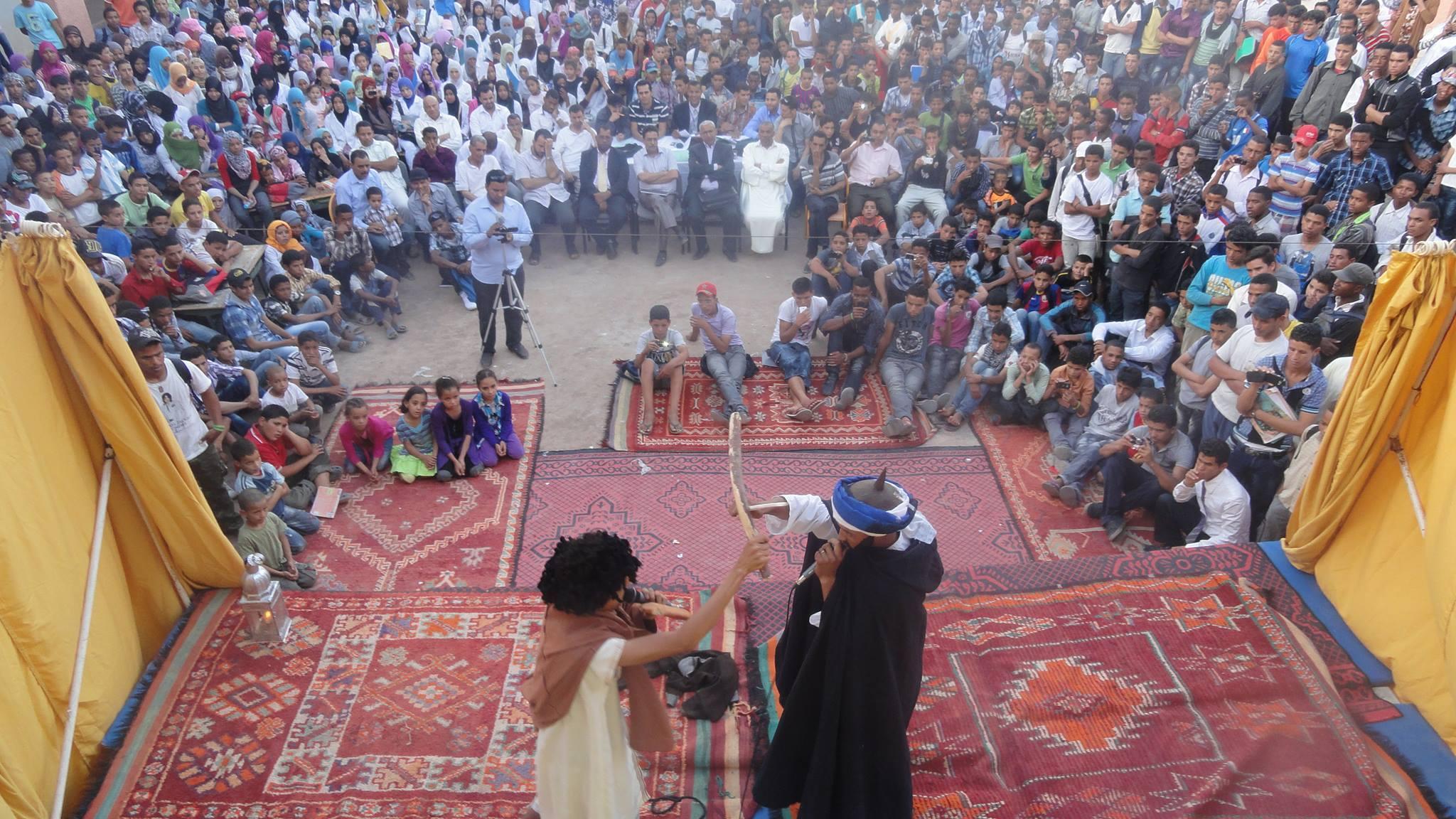 المهرجان الربيعي الثاني في المسرح بتازارين يومي 24 و25 أبريل