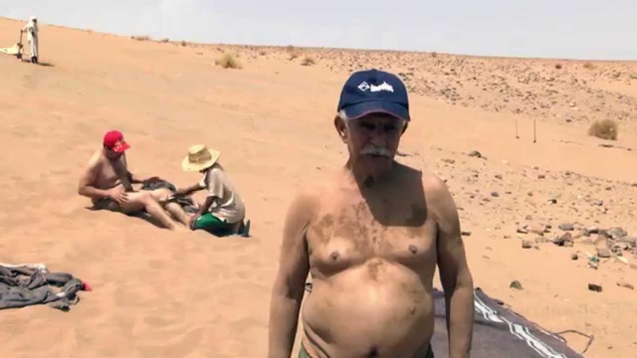 حمامات الرمال بزاكورة